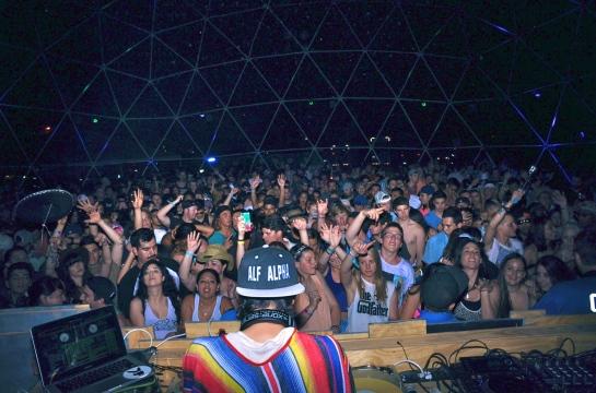 Alf Alpha x Coachella 2014 Dome