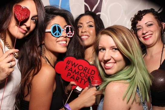 World Famous Party with Alf Alpha presented by The Coachella Valley Art Scene and Goldenvoice at The Hard Rock Hotel Palm Springs