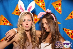 Pizza wave photo booth