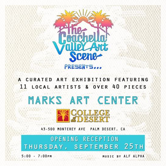 CVAS presents Art show at College of the Desert