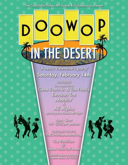 Doo Wop in the Desert 2015